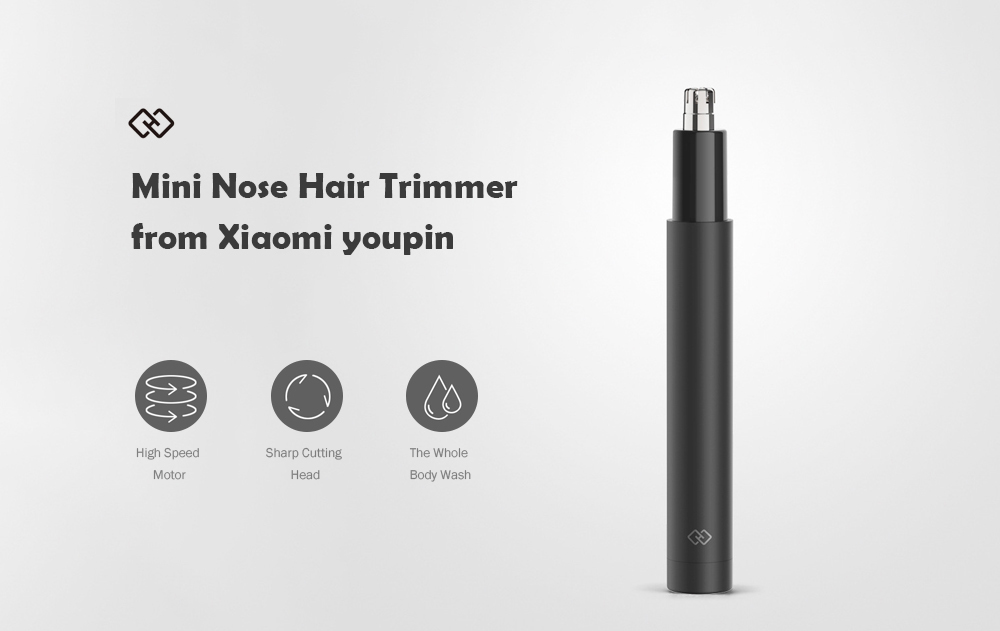 Mini Nose Hair Trimmer from Xiaomi youpin- Black