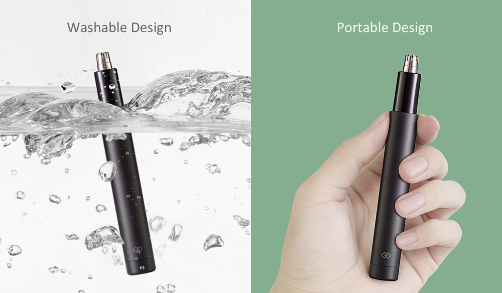 Mini Nose Hair Trimmer từ Xiaomi youpin- Đen