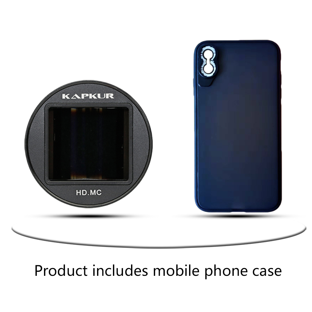 timeless design 2afc5 ad916 KAPKUR Anamorphic Lens for iPhone XS MAX 2.4-1 Widescreen Film Making 1.33X