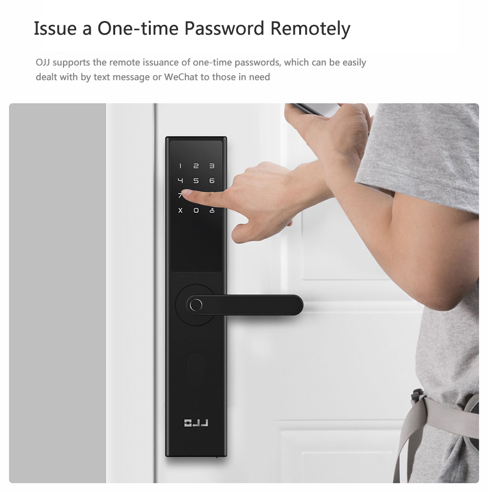 X1 Intelligent Door Lock di Xiaomi Youpin- Nero