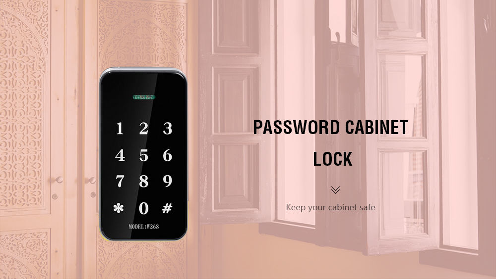 Miraculous Password Cabinet Lock Digital Touch Keypad Locks Home Interior And Landscaping Ologienasavecom