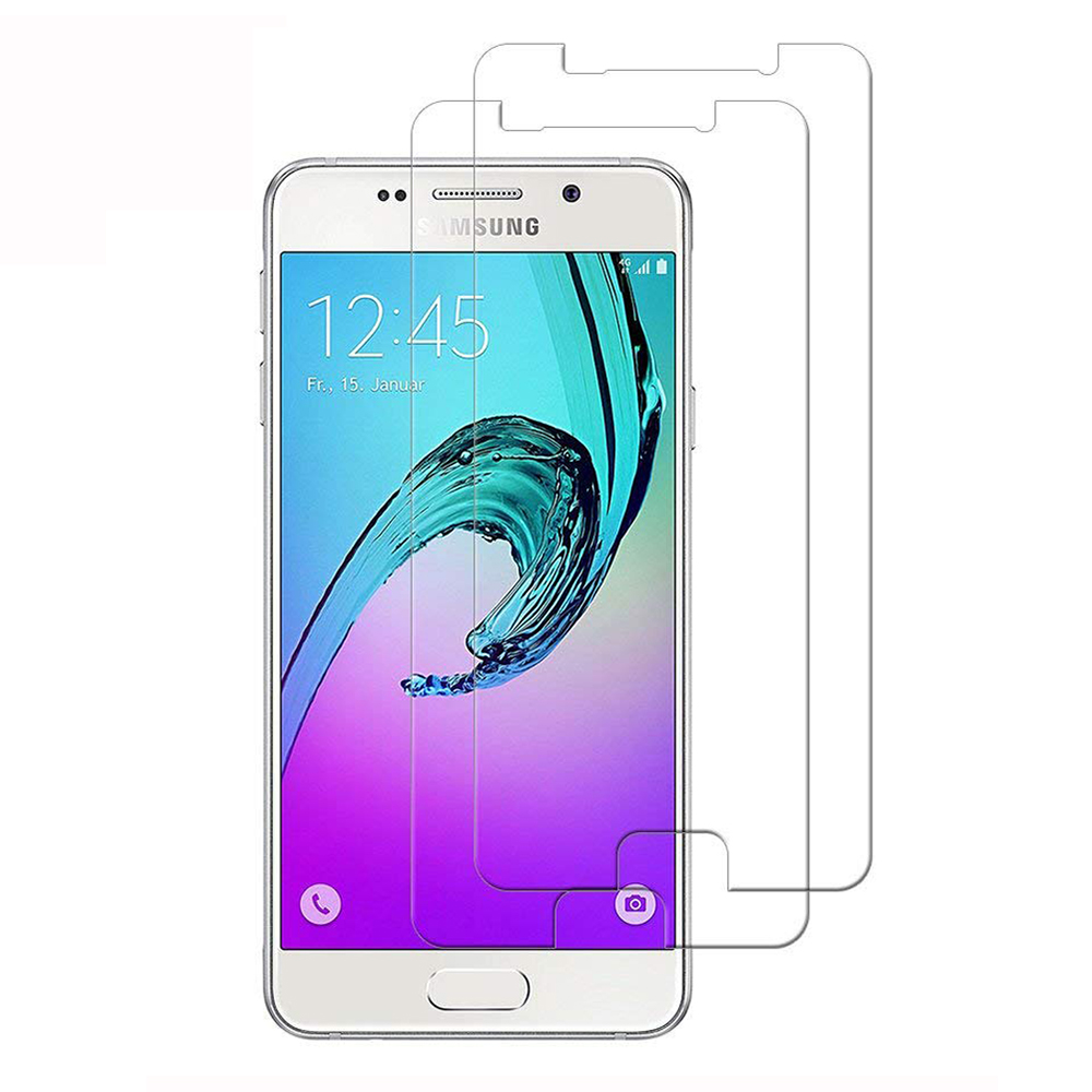 HD Screen Protector Protection for Samsung Galaxy A3 2016 / A310 Tempered Glass- Transparent