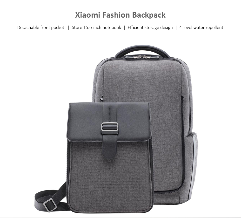 Xiaomi youpin Fashion Backpack- Dark Gray