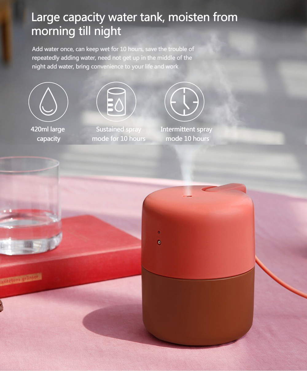 Touch Smart Desktop Humidifier from Xiaomi Youpin- Sea Turtle Green