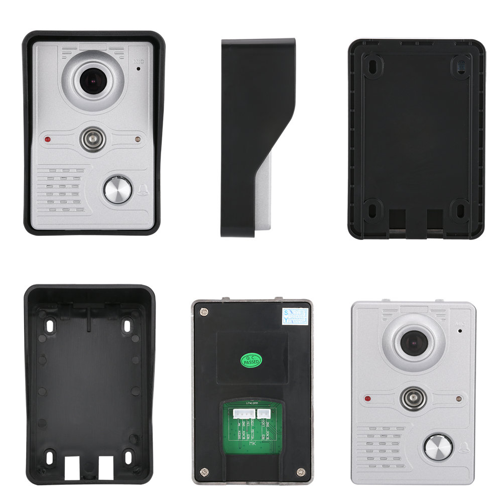 "10/"" Inch Video Door Phone Doorbell Intercom Kit 1-camera 1-monitor Night Vision"