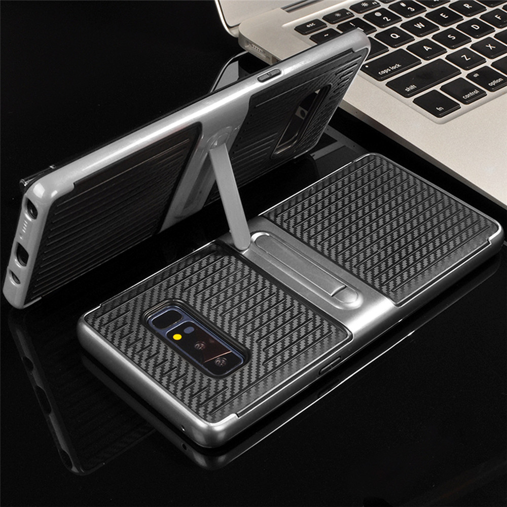 Cornmi Shockproof Phone Case for Samsung Note 8 with Holder