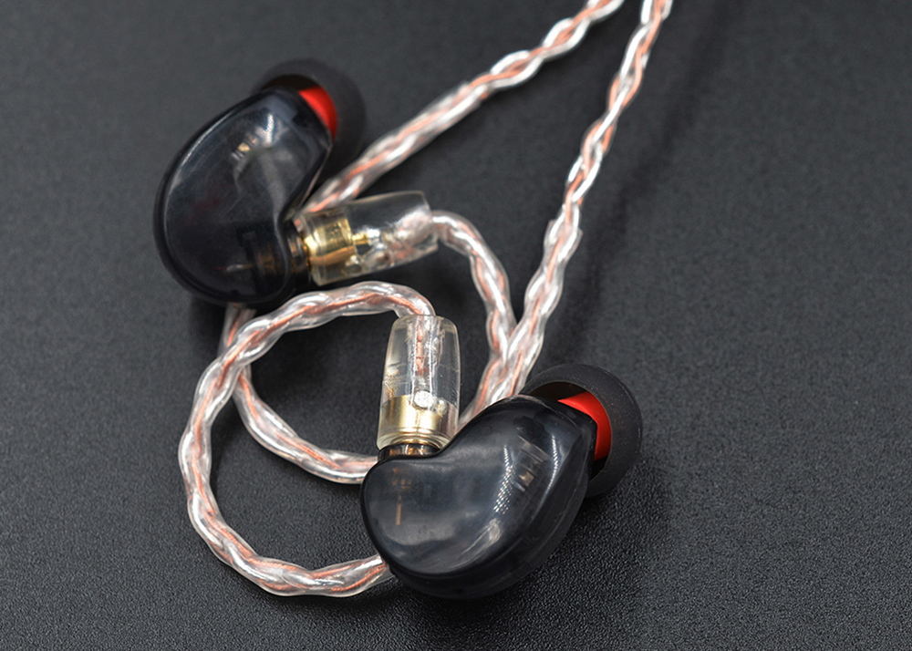 KZ Copper and Silver Hybrid Plating Upgrade Line Earphone Cable for KZ ZST ZS10 / ES3 / ES4 / AS10 / BA10 / ZS6 / ZS5 / ZS4 Earbuds- Blanched Almond B PIN