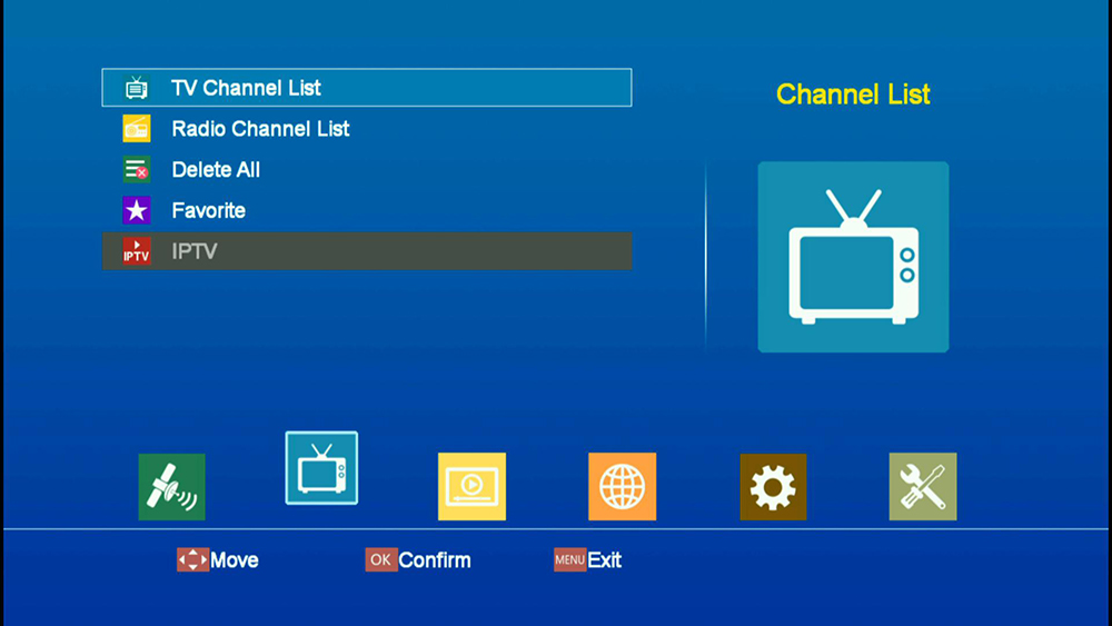 top Satellite TV Receiver with WiFi H 265 | smart tvs box