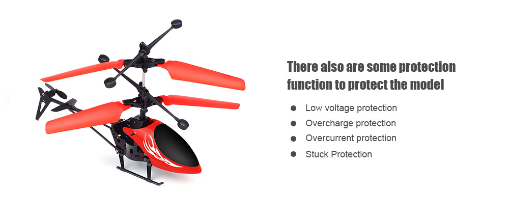 CX138 2 5CH RC Helicopter Airplane Infrared Induction Control