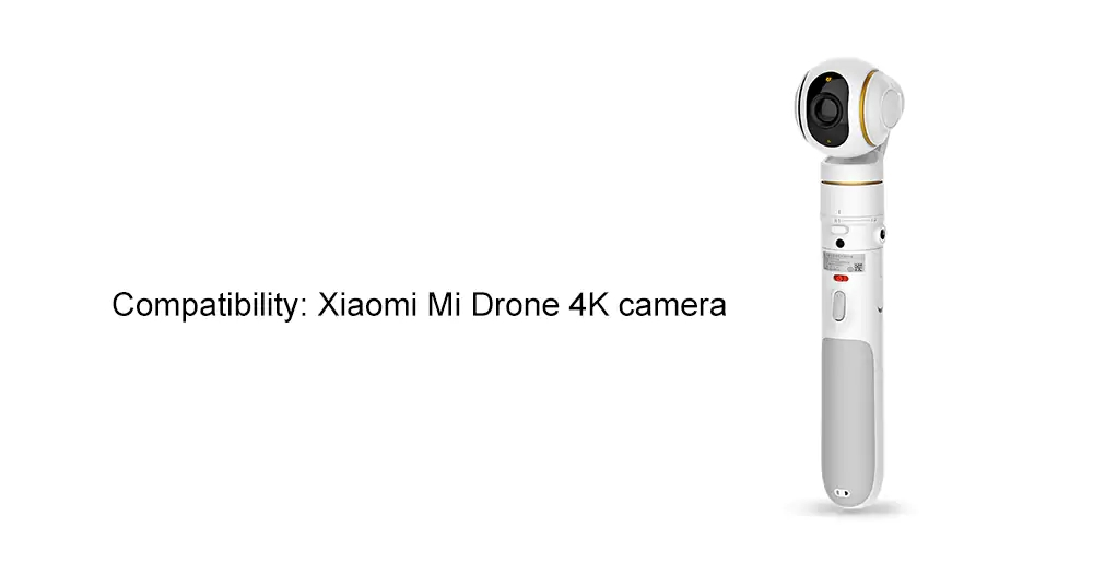 FIMI X1BH 3-axis Brushless Gimbal Camera Handle for Xiaomi Mi Drone 4K Camera- White