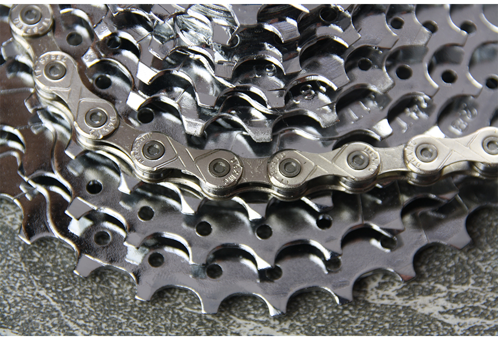 Bicycle Parts 10 Speed Derailleur Chain for Mountain and Road Bikes