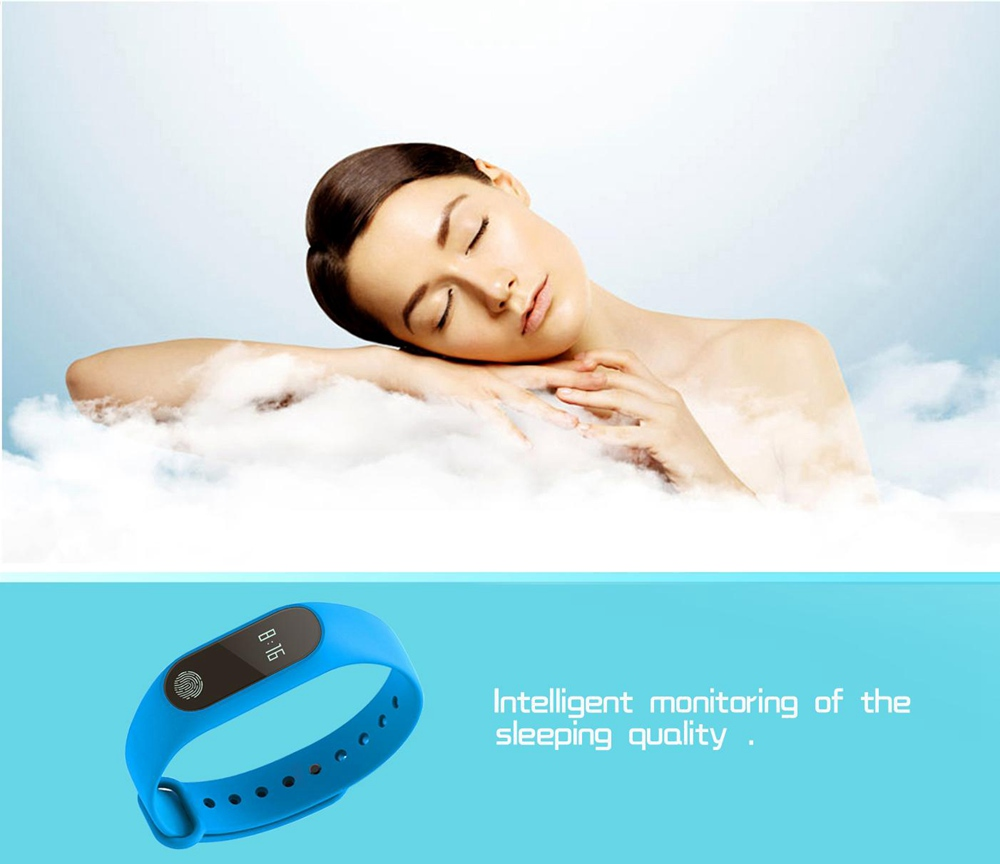 Fitness Tracker M2 Smart Bands Sport Watches For Men and Women Waterproofheart- Yellow