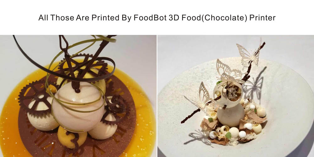 High Tech FoodBot Desktop Food Chocolate 3D Printer Machine For Chefs- Platinum 30ML