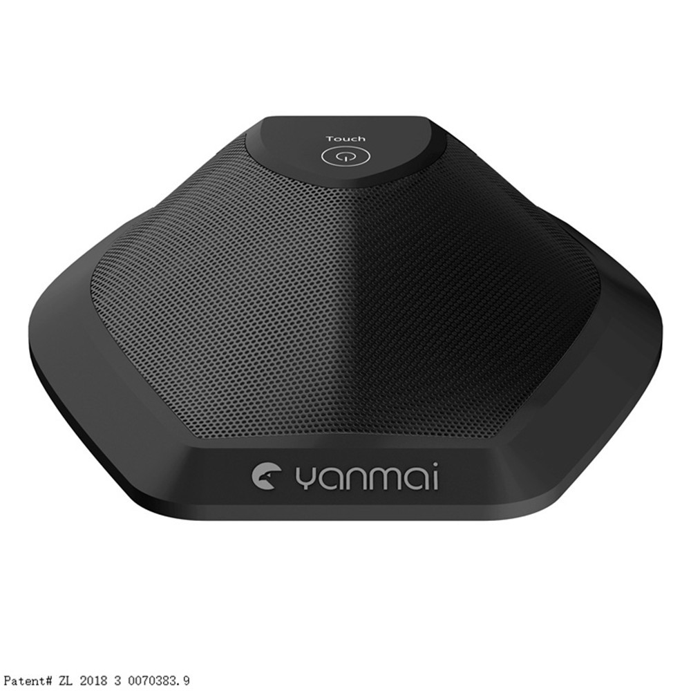 Yanmai G11 Desktop Conference Microphone Patented Condenser Microphone - Black
