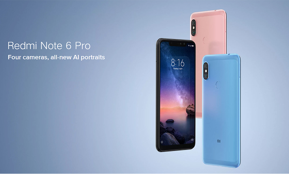 Xiaomi Redmi Note 6 Pro 4g Phablet Global Version 3gb Ram 175 99