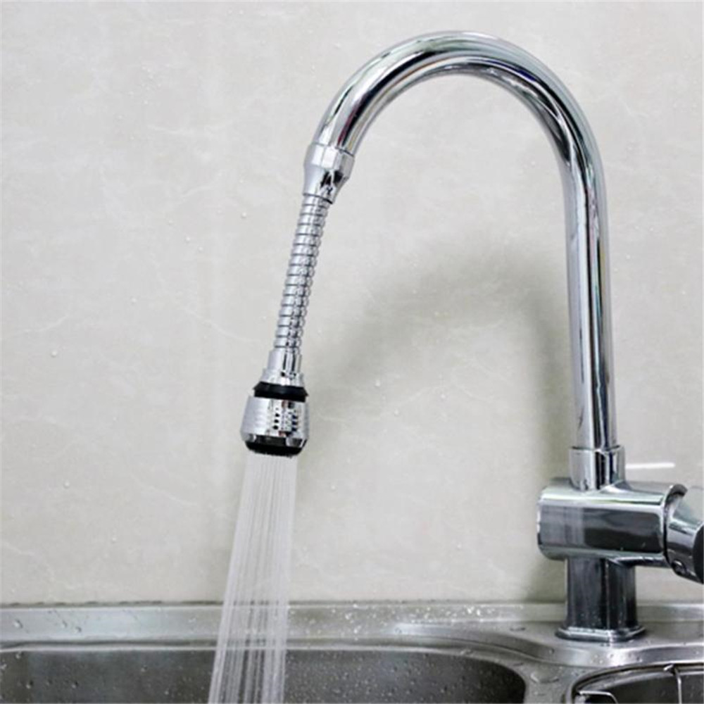 Turbo Flex 360 Flexible Faucet Sprayer- Silver