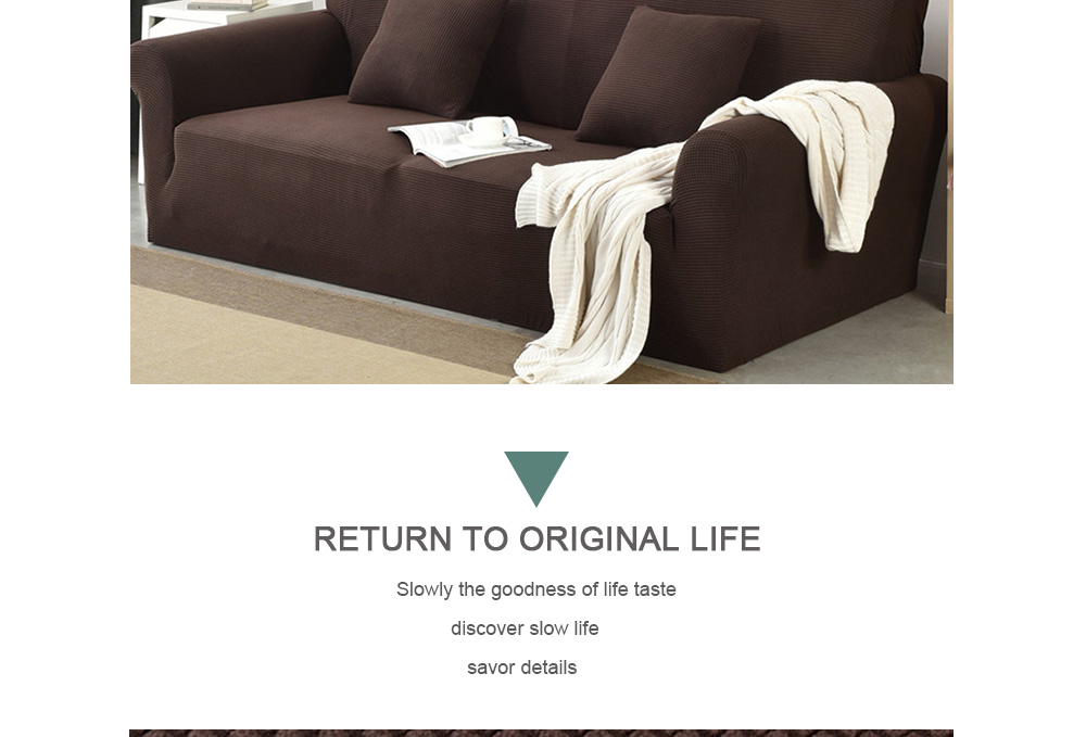 Fantastic Hpz Fleece Stretch Four Seasons Universal All Round Sofa Cover Double Onthecornerstone Fun Painted Chair Ideas Images Onthecornerstoneorg