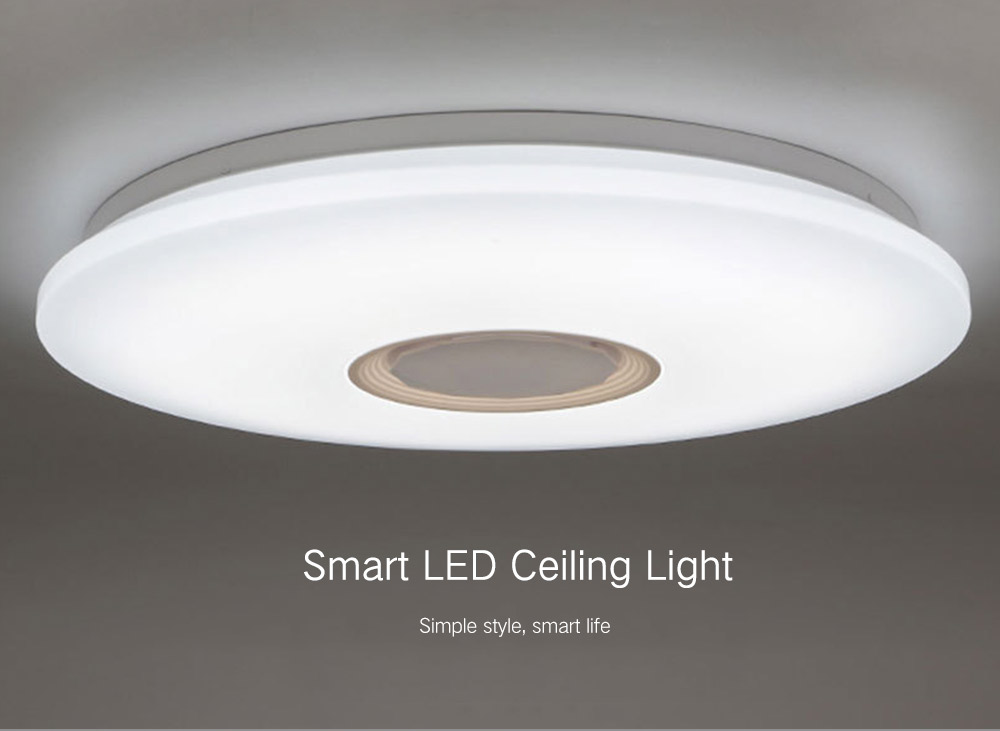 Smart Led Ceiling Light Support Voice Remote Control 220v