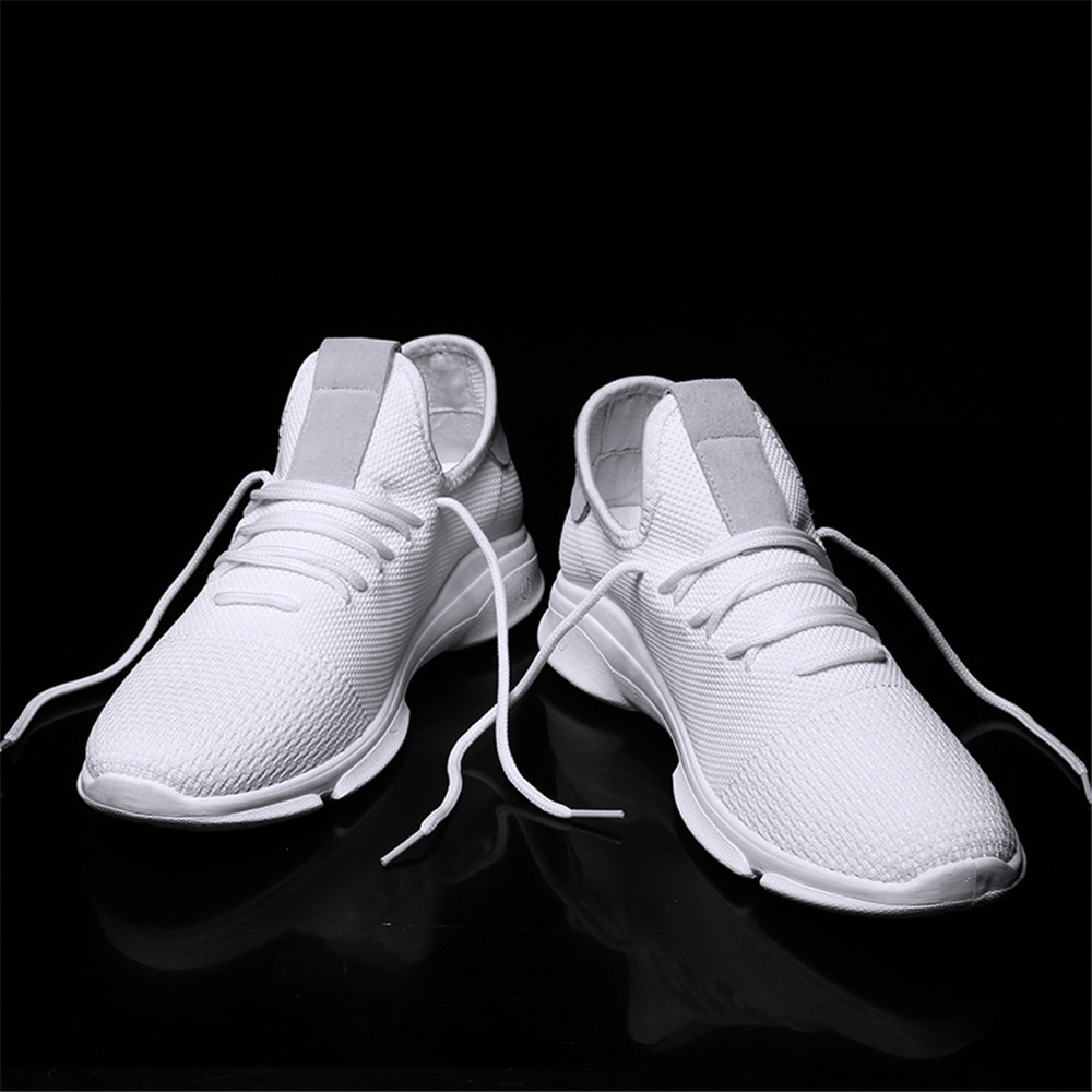 official photos 8146b fe67e Men Shoes Trend Breathable White Shoes Men Mesh Comfortable White Sneakers-  Multi-A EU