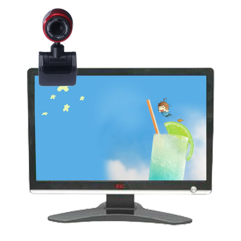 USB Webcam HD Built-in MIC PC Camera Plug and Play Computer Laptop Skype  for MAC