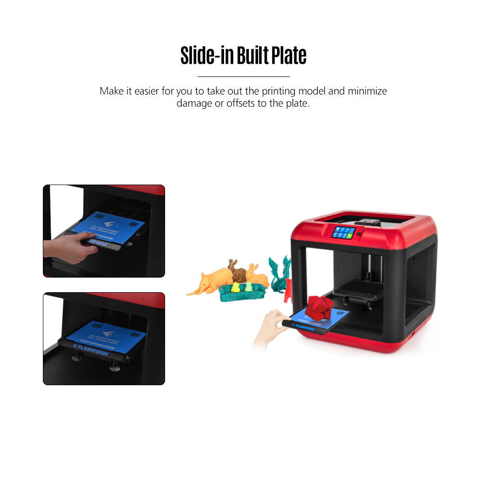 Flashforge Finder Plug And Play 3D Printer For Entry Level 140 x 140 x 140  mm
