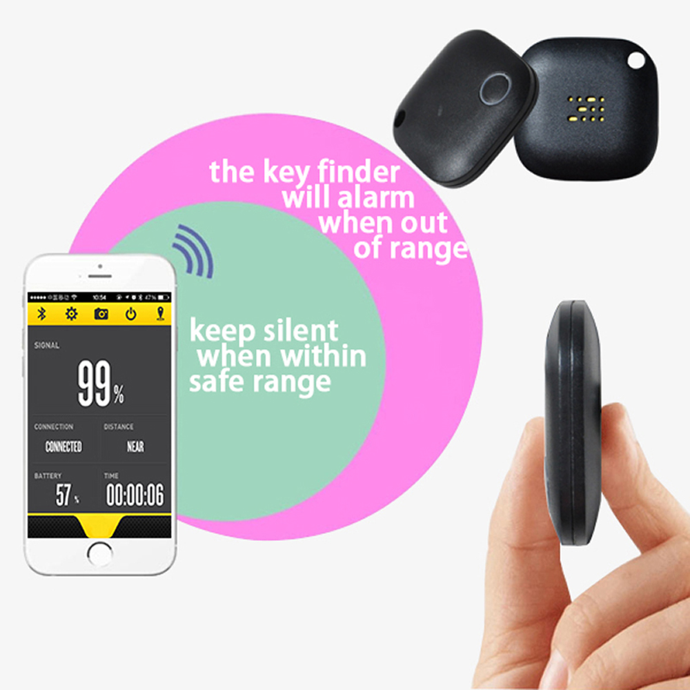 Smart Tags Mini Bluetooth Child Pet Wallet Key Finder Alarm GPS Locator  Tracker