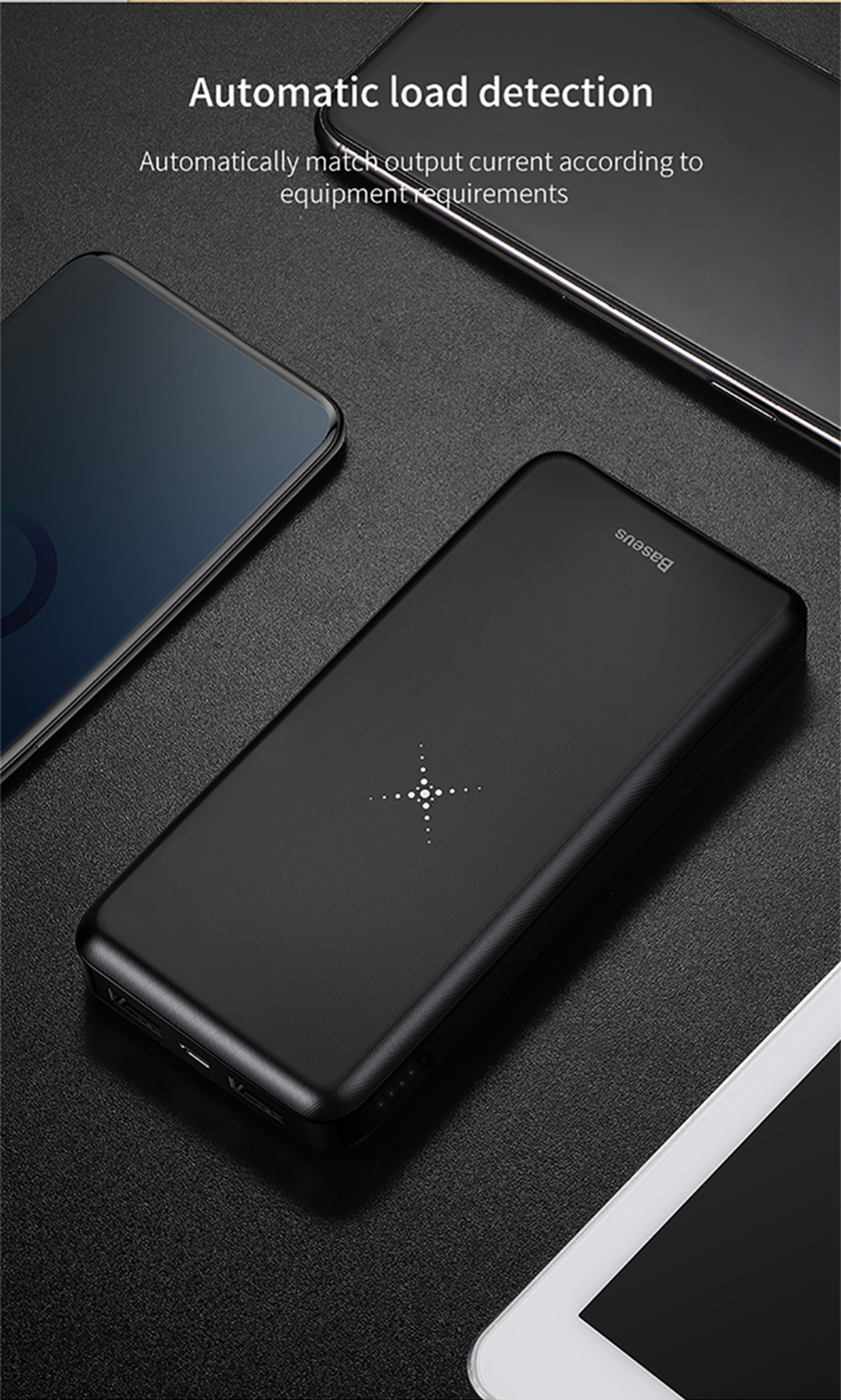 Baseus PPALL - M3601 2 in 1 Multi-protection Wireless Charger ...