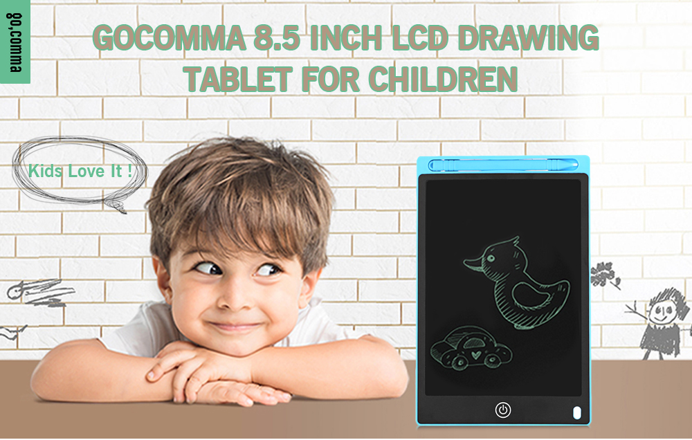 Gocomma 8 5 inch LCD Drawing Tablet for Children