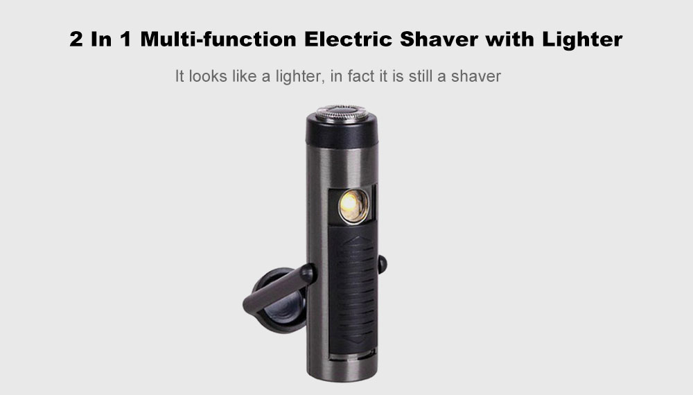 Cool 2in1 Laser Flame-less Windproof Lighter USB Rechargeable Torch Flashlight