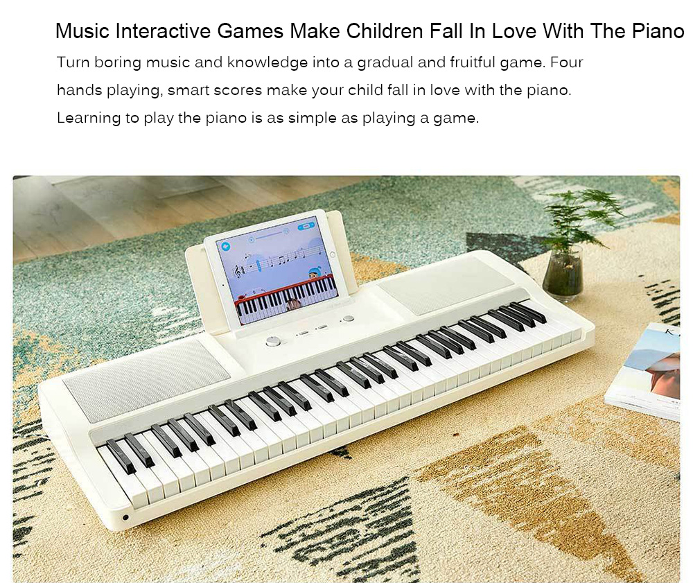 TheONE TOK1 Smart Electronic Organ from Xiaomi Youpin Beginner Music  Instrument