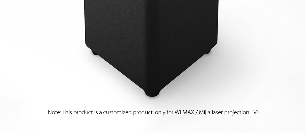 WEMAX S1 Subwoofer Speaker for WEMAX / Mijia Laser Projection TV ( Xiaomi Ecosysterm Product )- Black