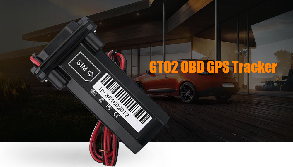 GT02 OBD GPS Tracker Cell Phone GPS Tracking System for Vehicles