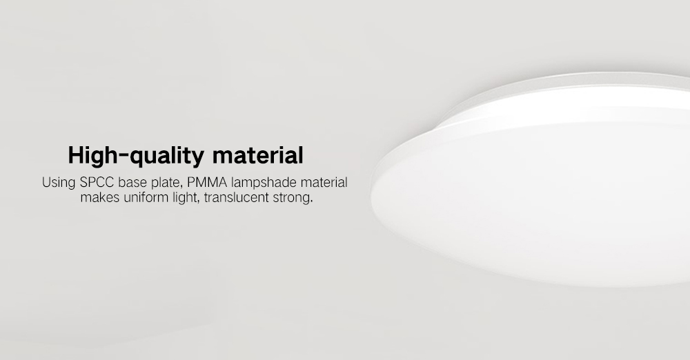 Yeelight YILAI YlXD04Yl Simple Round LED Ceiling Light Mini for Home- White