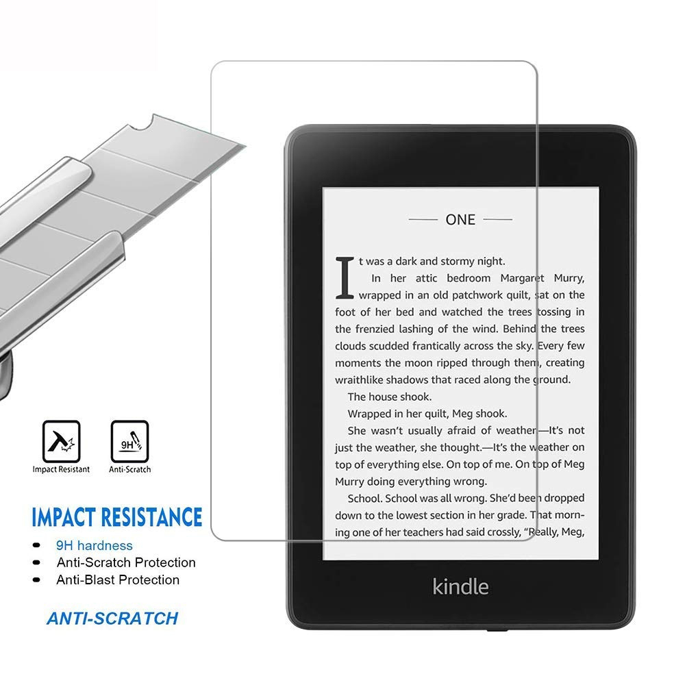 For New Kindle Paperwhite 4 2018 Ultra HD Clear Tempered Glass Screen Protector