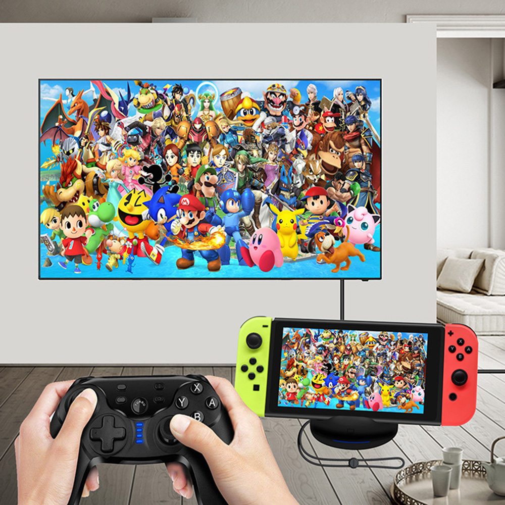 Tv Dock Switch Portable Dock Stand For Ns Nintendo Switch Game