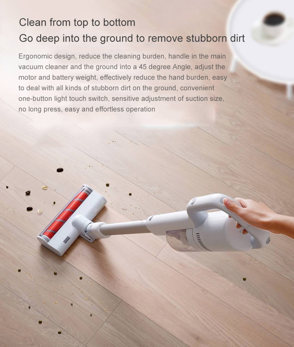 ROIDMI XCQ05RM Wireless Handheld Vacuum Cleaner ( Xiaomi Ecosystem Product )- White