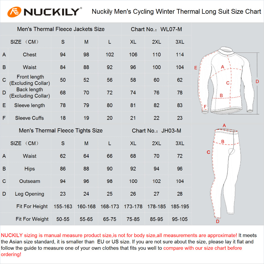 Outdoor cycling suit for men and women in winter and Autumn