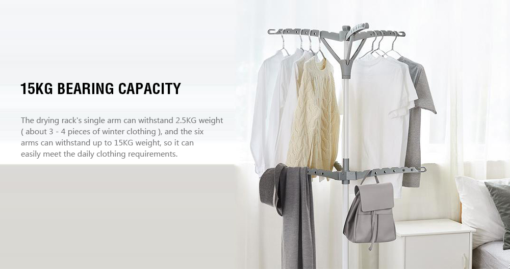 Simple Triangle Drying Rack from Xiaomi youpin- Dark Gray