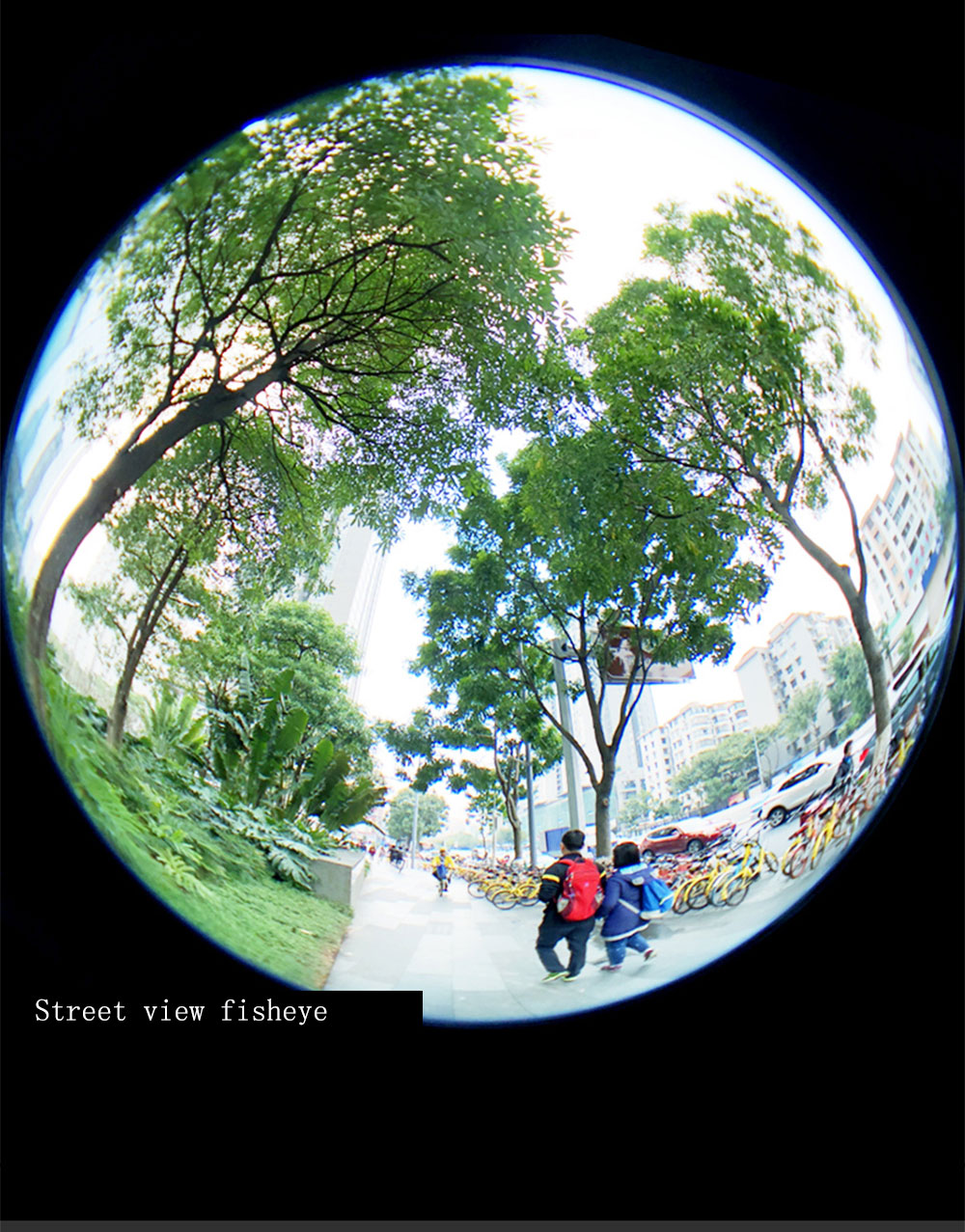 new concept 96a75 d5eb7 KAPKUR Mobile Phone Lens Fisheye Lens Suitable for Round Scenery for iPhone  7