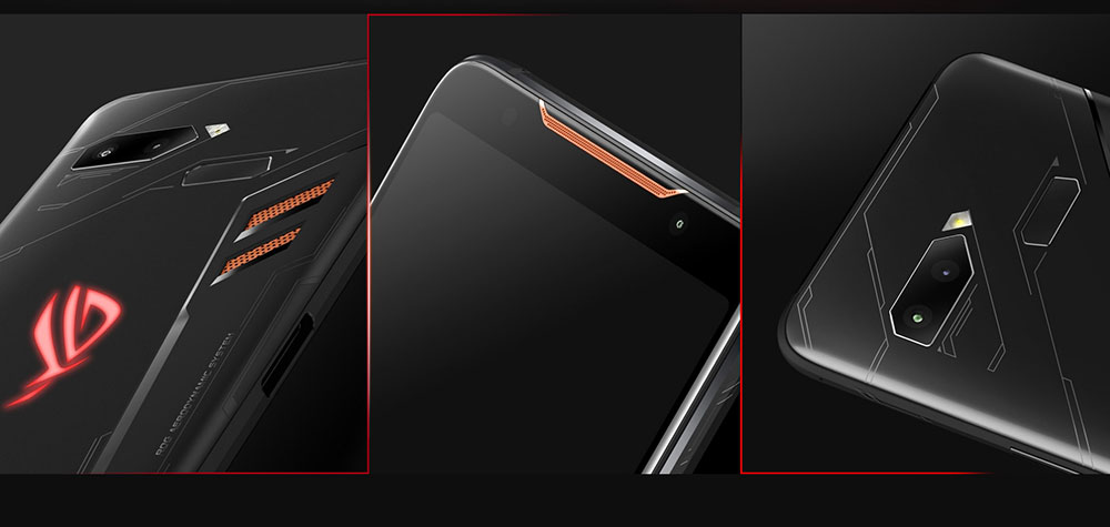 Smartphone 4G ASUS ROG Phone Version Internationale- Noir