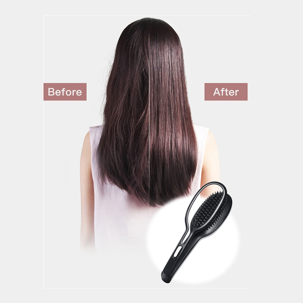 Image result for electric hair straightener splint comb