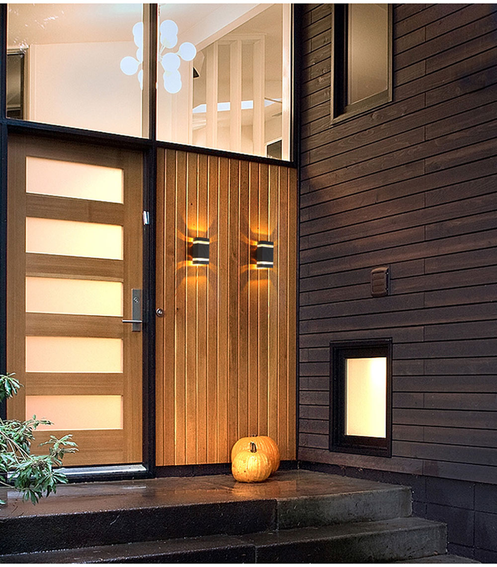 Led Lamps Lights & Lighting Inventive Outdoor Waterproof Ip65 Wall Lamp 12w Led Up And Down Wall Light Sconce Decorative Lighting For Porch Garden Bedroom Ac85-265v By Scientific Process
