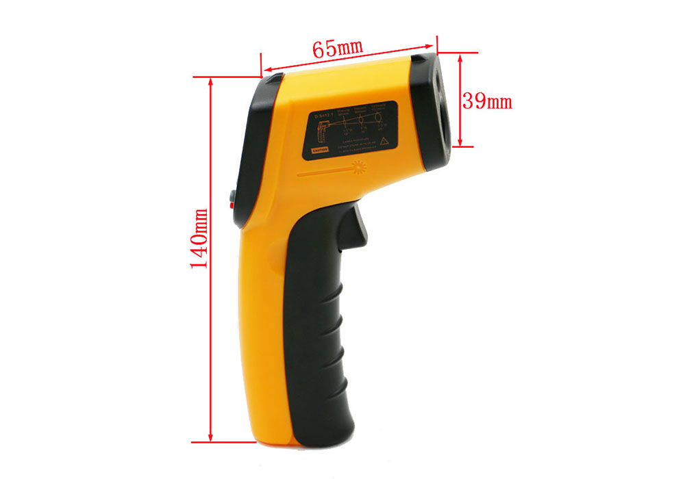 Infrared Kitchen Electronic Thermometer- Yellow