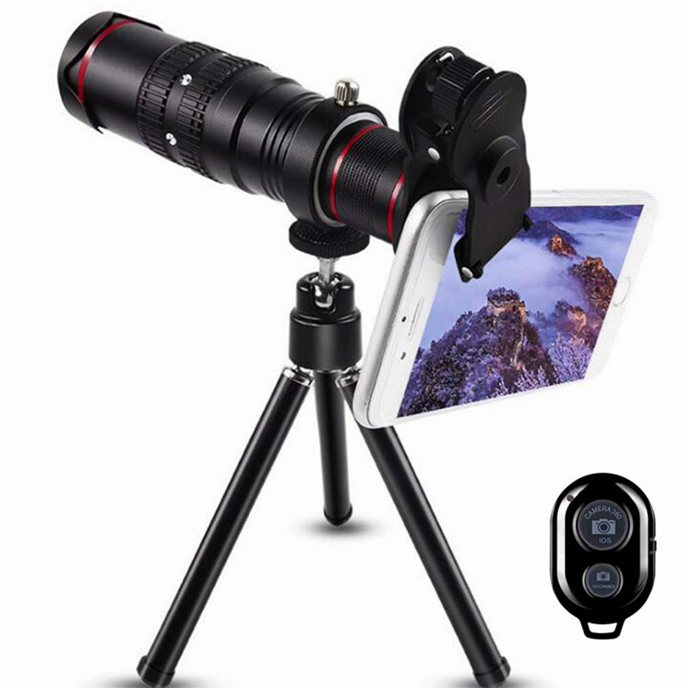 Bluetooth Remote 22 Times Mobile Phone Telephoto Telescope Head Most Models  for
