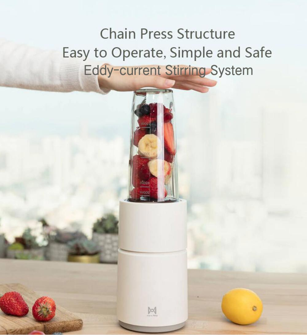 Pinlo Household Multifunctional Juicer Small Mixer from  youpin- White