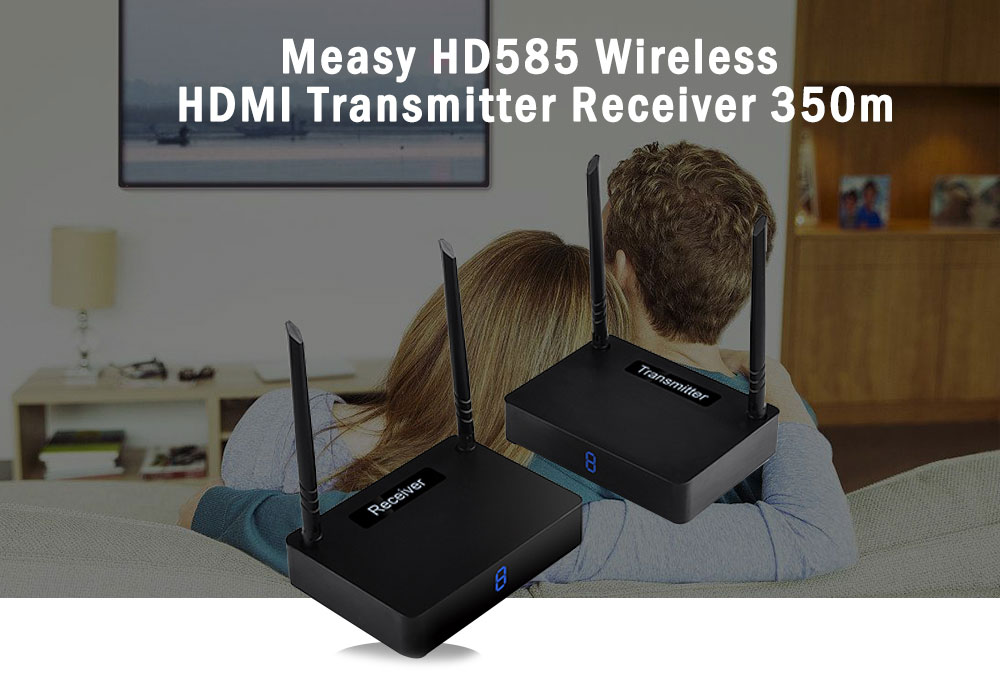 Measy HD585 Wireless HDMI Transmitter Receiver 350m - $135.72 Free ...