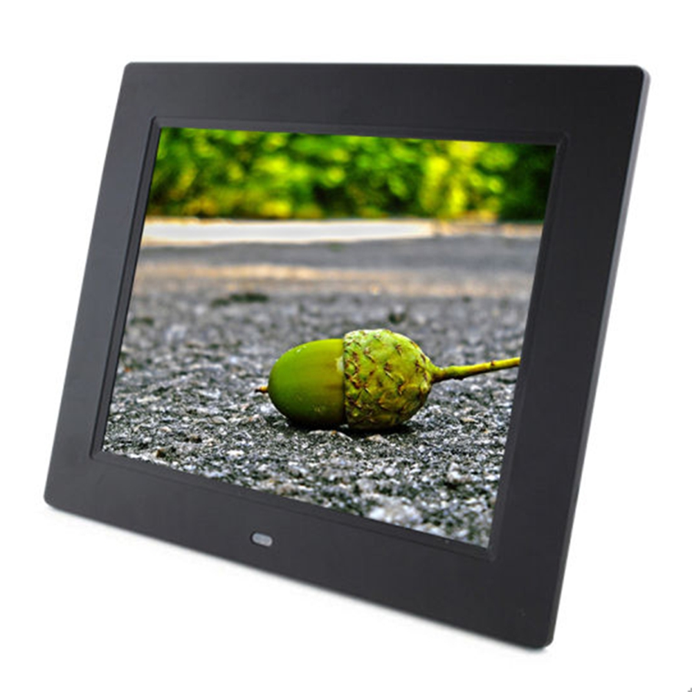 8 Inch Digital Photo Frame Supply Playback Video Music Picture With
