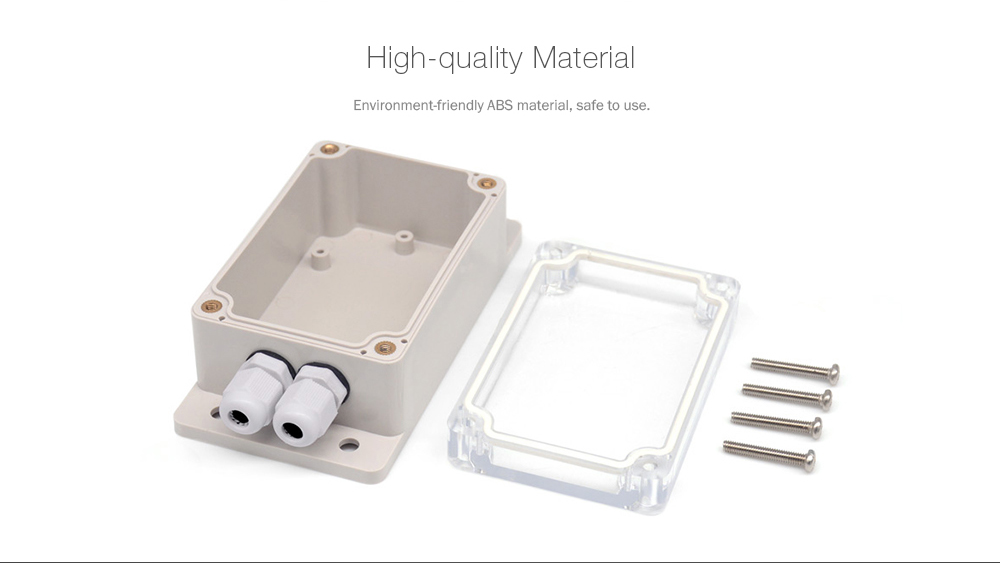 IM171017001 IP66 Waterproof Case with Connector