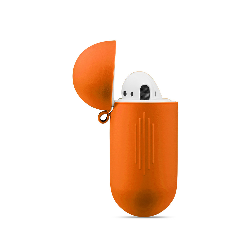 airpods orange light