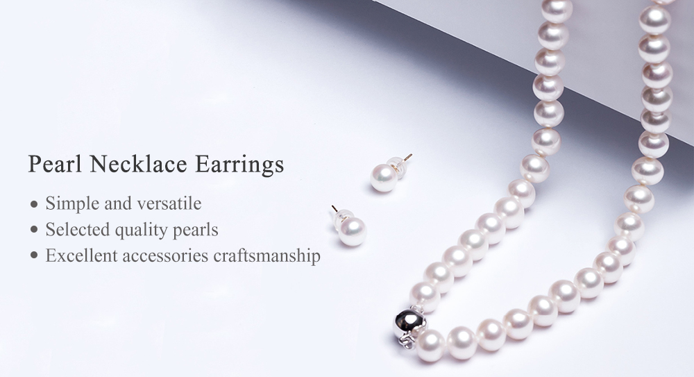 Xiaomi Youpin Ruans Elegant S925 Silver Pearl Necklace 18k Gold